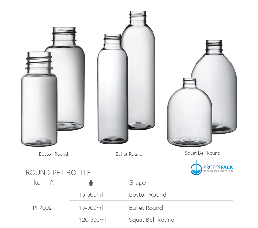 Botellas de PET y PE