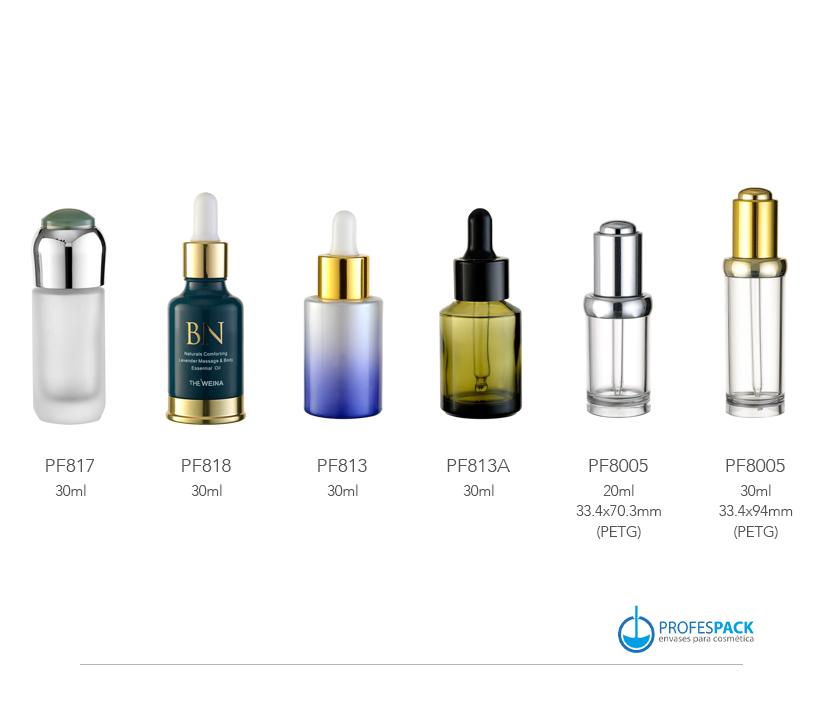 Botellas para aceites y goteros