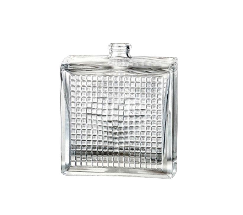 Botellas de perfume y tapones